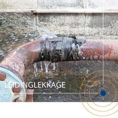 waterleiding lekkage Rotterdam